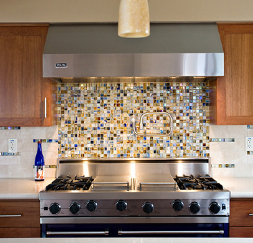 How to Install a Glass Tile Kitchen Backsplash | Plumbtile's Blog