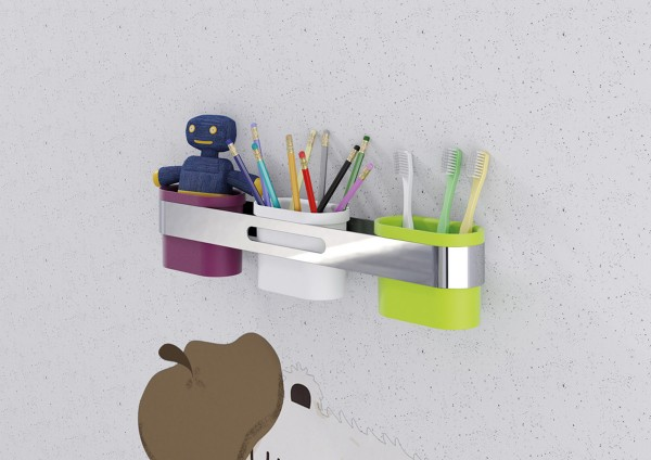 Innovative  Frame Into Cubby Storage  What A Great Idea For The Kids Bathroom