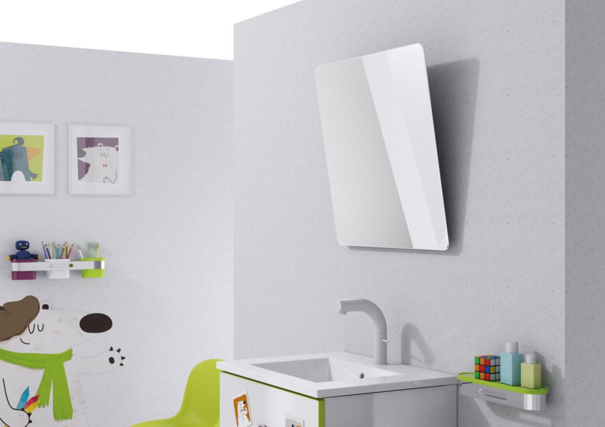 Original Kids Bathroom Update Framed Builder Mirror