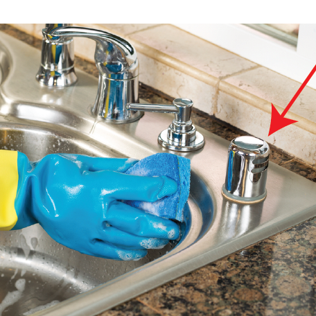 How To Install A Dishwasher Air Gap Kit Plumbtile S Blog